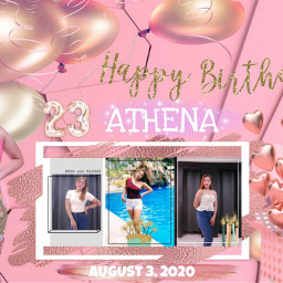 birthday tarpaulin cutestyle freetoedit philippines2020