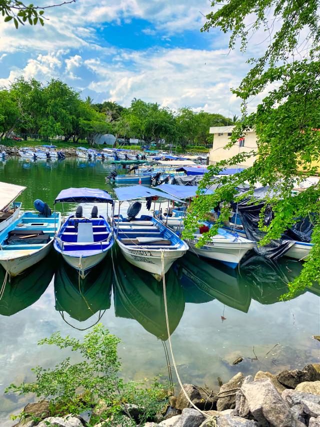 #boats #fish #fishing #fishingboats #ocean #scenery #background #landscape #nature #freetoedit