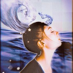challenge oceanwave hairedit freetoedit unsplash echairart