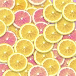 freetoedit background fruit lemon lemons grapefruit pink aesthetic color