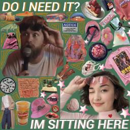 moodboard mxmtoon jackstauber music artist singer aestheticmusic pink green orange phonto