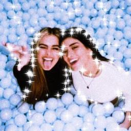 dixie addison blue sparkles interesting freetoedit