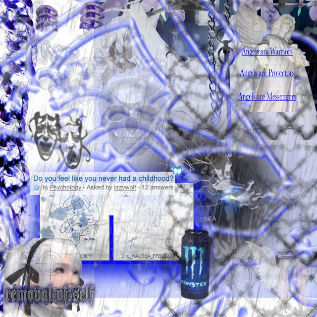 !!the original image isnt mines!! i just decided to add a bit of more stickers to it:) . . #draingang #dg #drainer #draing #drainedit #bladee #yungbruh #ecco2k #100gecs #gec #blue #aesthetic #myaesthetic #myspace #y2k #grunge #goth #emo #alt #mallgoth