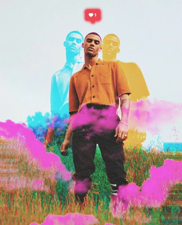 Make your portrait subjects really stand out 👯‍♂️ with an isolated vintage glitch effect 📸👊 Edit by @naremanghizan #glitch #glitcheffect #clouds #vintage #freetoedit