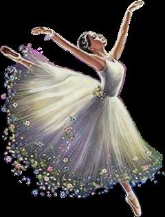 freetoedit flower aesthetic floweraesthetic dance girl dress magic imagination ballet
