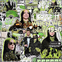 complexedit overlays overlayedit complex complexoverlays billieilish green freetoedit