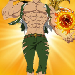 freetoedit manga animé the escanor