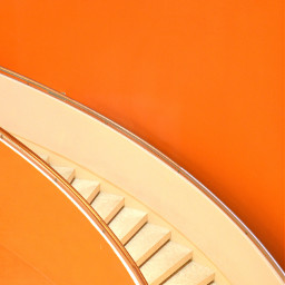 stairs orange background backgrounds freetoedit