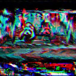 mmdstage hatsunemiku wave glitch hdreffect crypton 3dglitch lucagrillo