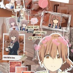 freetoedit koenokatachi shoukonishimiya aesthetic aestheticwallpaper wallpaper