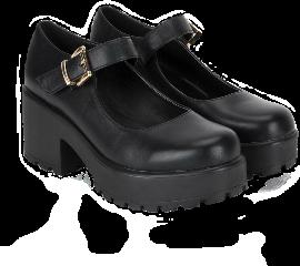 shoes blackshoes softgrunge goth gothic gothshoes pastelgoth gothaesthetic clothes shoe darkacademia freetoedit