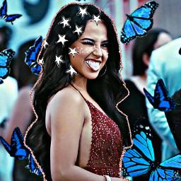 beckyg beckygedit fanedita fanedit aesthetic aesthetictumblr tumblr mariposaazul mariposa mujer freetoedit