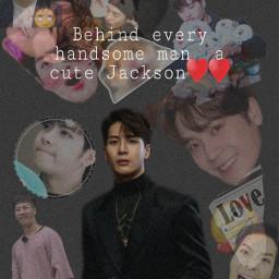 got7 jackson cute funny handsomeman beautiful corea love kpop freetoedit