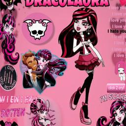 freetoedit editforme draculaura draculauraandclawd monsterhigh monsterhighedits monsterhighdraculara monster_high