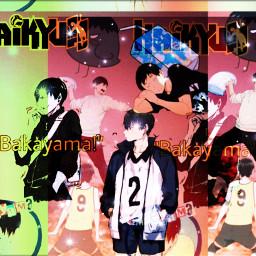 freetoedit kageyama_tobio haikyuuedits wallpaper