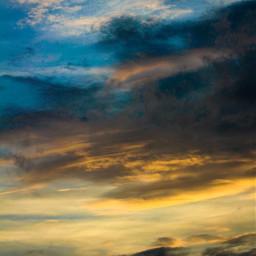 freetoedit sky heaven backround sunset clouds galaxy universe summer