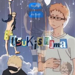 freetoedit tsukkishima keitsukkishima kei anime haikyuu edit manga pathetic simp