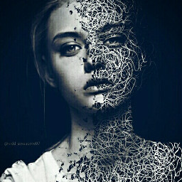 pictureoftheday art portraitphotography beautiful girl model picsartdrawing patterninmotion