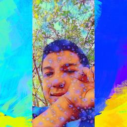 selfie selfieart summer draw summerdays happy happyday!💕 happyday