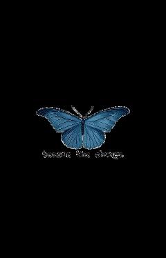 freetoedit butterfly sticker aesthetic vintage quotes aestheticquotes aestheticsticker blue aestheticblue