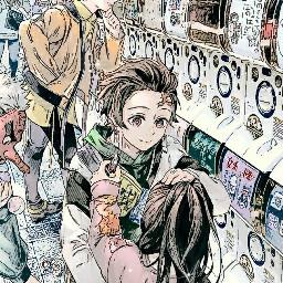 wallpaper edit kimetsu anime