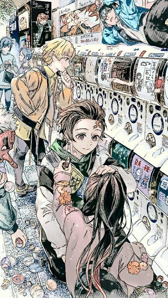 #wallpaper #edit #kimetsu #anime
