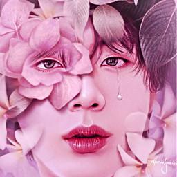 myedit kimseokjin seokjin jin bts pink aesthetic love kpopidol btsedit bulletproofboyscouts