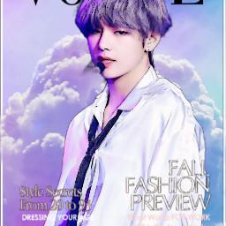 freetoedit simple voguechallenge vogue beauty taehyung purpleclouds purpleaesthetic