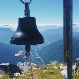 mountain nature landscape landscapephotography bell hiking hikingadventure sky freetoedit