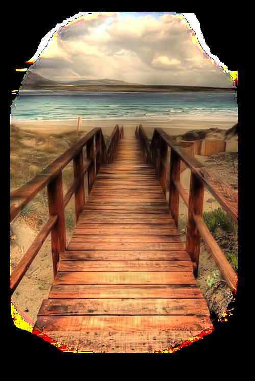 #bridge #beachview #seaview #landscape #scenery
