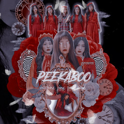 kpop kpopedit peekaboo redvelvet monochromatic lala freetoedit