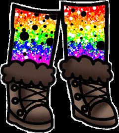 freetoedit multicoloured lgbtq gachalifeoutfit gachashoesandsocks rainbowoutfit gachaoutfit gachaclub multicolouredsocks
