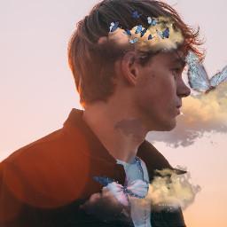 myoriginalmyedit stickerchallenge butterflysticker ethrealbutterfly etherealbutterflysticker clouds cloudsticker srcetherealbutterflies etherealbutterflies freetoedit