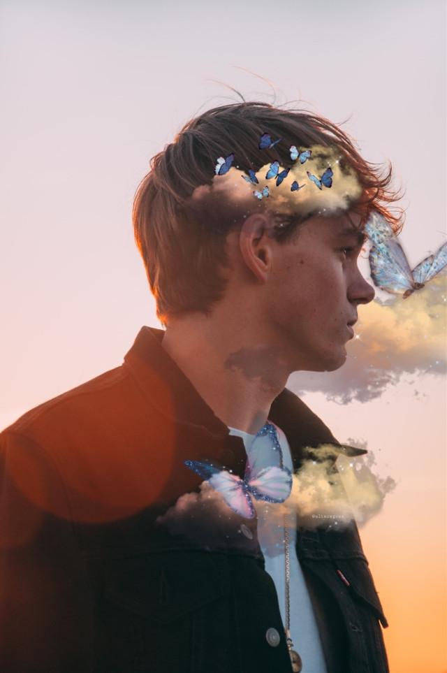 #myoriginalmyedit #stickerchallenge #butterflysticker #ethrealbutterfly #etherealbutterflysticker #clouds #cloudsticker