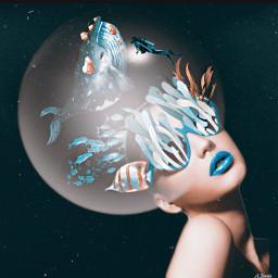 artisticportrait myedit surreal remixed undefined remixit