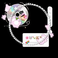 png overlay cute pink pastel bear cd album instagram frame aesthetic game gaming kpop korea asia freetoedit