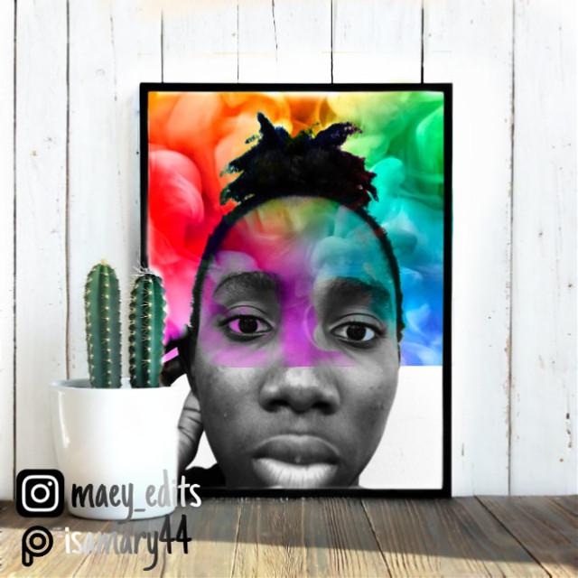 #freetoedit #rainbowbackground #fit #mirror #hdreffect #b&whighcon #maeyedits #erasertool #blackandwhite