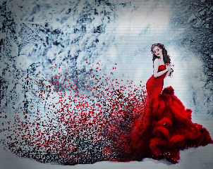 red snow rcdispersioneffect dispersioneffect freetoedit
