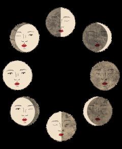 freetoedit text paper papel collage tumblr colagem lua moon luna
