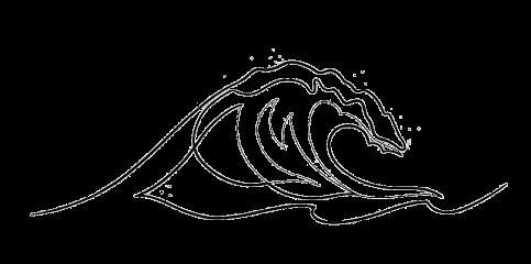 freetoedit tumblr desenho black preto draw onda surf summer