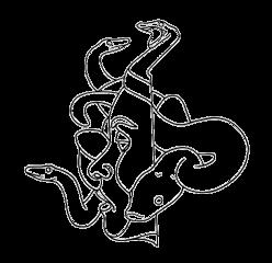 freetoedit tumblr desenho black preto draw art meduse