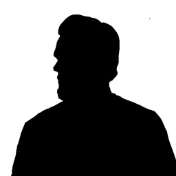 freetoedit picsart vipshoutout silouhette silouette blackandwhite dailytag challenge portrait man remix remixit remixed