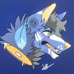 digitaldrawing digitalart wolf furry furryart fursona
