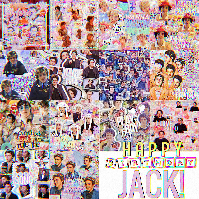 """HAPPY BIRTHDAYYY JACK bruh i really don't know what you say, thank for being this amazing model for all of us, even if you don't know it  this is a collab i made with a bunch of talented people :)  (Its in order from left to right)  1. @awhwolfhard-  2. @richie_toqster  3. @awhwolfhard-  4. @finnswqter  5. @shine_offical  6. @celeb_edits2020  7. @-lqsers_mills  8. @awhsugar-  9. @lunadevil  10. @beemymoon  11. @celeb_edits2020  12. @hqneyswcct-  13. @chqrlidamelio  14. @badass_sweetheart   ⋆∴🎸༄ 𝐮𝐧𝐝𝐞𝐫𝐬𝐭𝐚𝐧𝐝𝐚𝐛𝐥𝐞 𝐞𝐱𝐢𝐬𝐭𝐞𝐧𝐜𝐞𝐬 ༅  @iloveyoulunaa @lunadevil-fp @lunasfannn  ༅🎸⋆∴🎡⋆ટ🎈⋆༄  ⋆∴🎸༄ 𝘤𝘳𝘢𝘻𝘺 𝘱𝘦𝘰𝘱𝘭𝘦 ༅  @awhwolfhard- @beemymoon @hxneytears- @cvpidbutera @sscoopstroop @badass_sweetheart @cat_noir_of_paris @that_emo_biker @scft_mills @spacedrxmz @reddie- @1netflix2 @-deadgirlinthepool- @charli_dameeelio @cherubpaws @awhmelanie- @riya_rose @ahoylosers- @beabeautybear @avocado_st @sunsetmillie @thesxance @_rem__ @smol___cat @clarisalikespoparts @richie_toqster @granger_hp0tter @delphini_phoenix @honeysqckle- @finnfreakingwolfhard @wafflq- @lxvingproof @xx_stitchhh_xx   𝘤𝘰𝘮𝘮𝘦𝘯𝘵 """"🎸"""" 𝘵𝘰 𝘣𝘦 𝘢𝘥𝘥𝘦𝘥 𝘤𝘰𝘮𝘮𝘦𝘯𝘵 """"🎈"""" 𝘵𝘰 𝘣𝘦 𝘳𝘦𝘮𝘰𝘷𝘦𝘥  #jackdylangrazer #happybirthday #collab #it #eddiekaspbrak"""