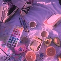 freetoedit wallpapers wallpaper indie girl indiegirl paint summer picnic arthoe artaesthetic