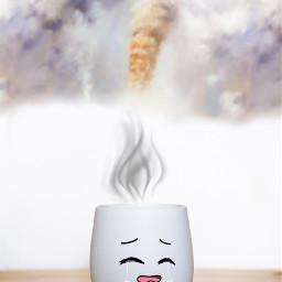 fumes teacup steam maeyedits stickerremix hdreffect noiseeffect freetoedit unsplash