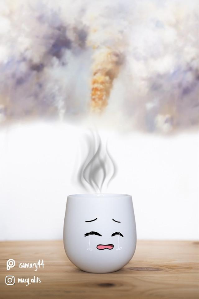 #fumes #teacup #steam #maeyedits #stickerremix #hdreffect #noiseeffect