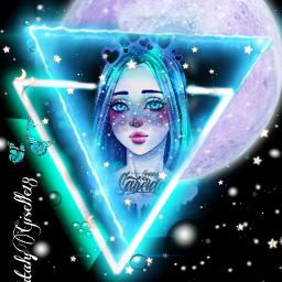 natalygiselle colorazul💧 fotoedit giselle dibujo idol azul negro triangulo🔺 nocheoscura♡ azul💙 lunallena fotoedit😜 estrellas💕🌠 freetoedit colorazul triangulo nocheoscura estrellas