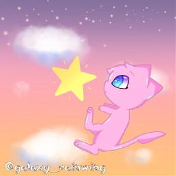 pokemon oc pokemonoc mew mewoc newoc cute pokemonedit anime animeoc