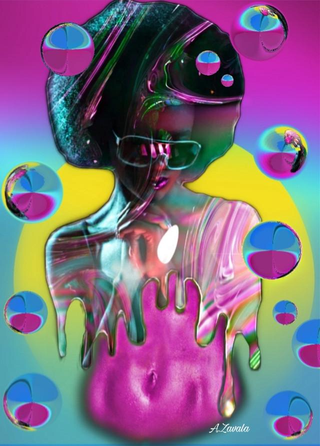 #artisticportrait #myedit #undefined #byme #remixit #remixit #colorful